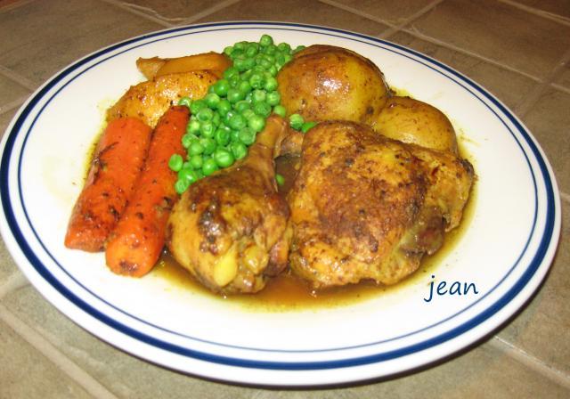 Tajine de poulet au petits légumes, Maroc ..1..img_6879-2726f04