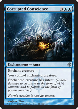 MTG : Mirrodin Besieged - Page 2 Corrupted-conscience-24a6140