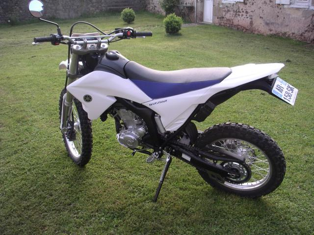 Quelle moto est la DTMX de 2011 ? Wr-2--259697a