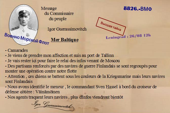 Azov ou le journal d'un patriote. Message-3-2c31bd5