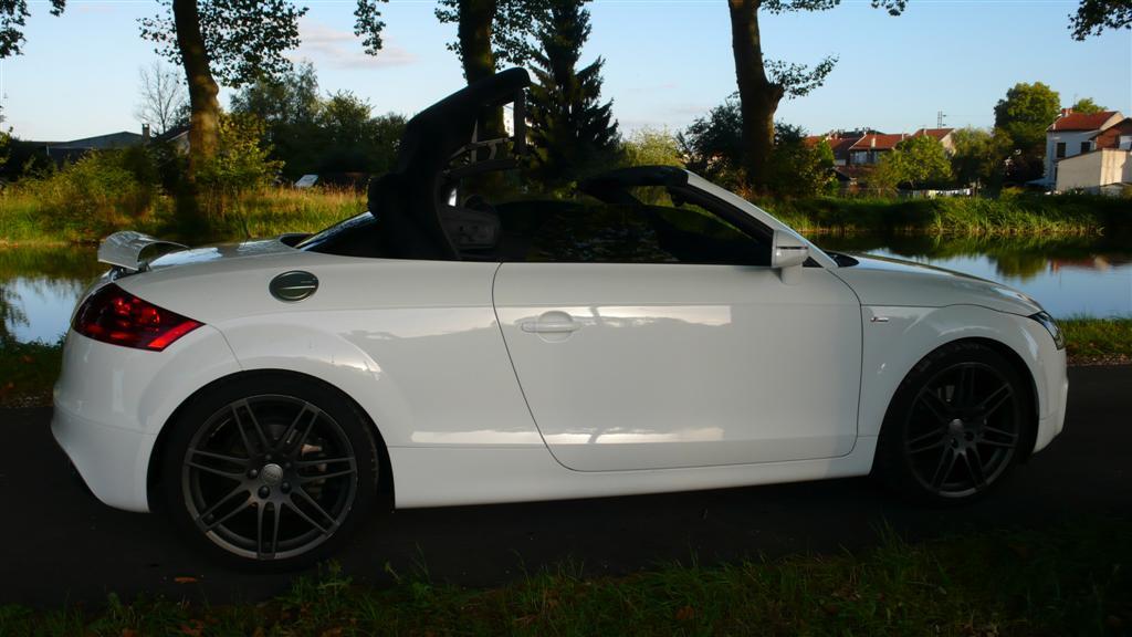 Mon Audi TT mk2 Roadster Sline Stronic Ibis P1040921-2cd5429