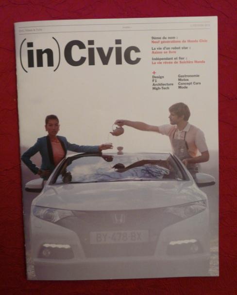 Civic :  l'équipe magazine , Supplément spécial Honda Civ1-317ab80