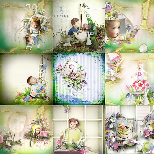 Véro - MAJ 02/03/17 - Spring has sprung ...  - $1 per pack  Pages-ct-32887ee