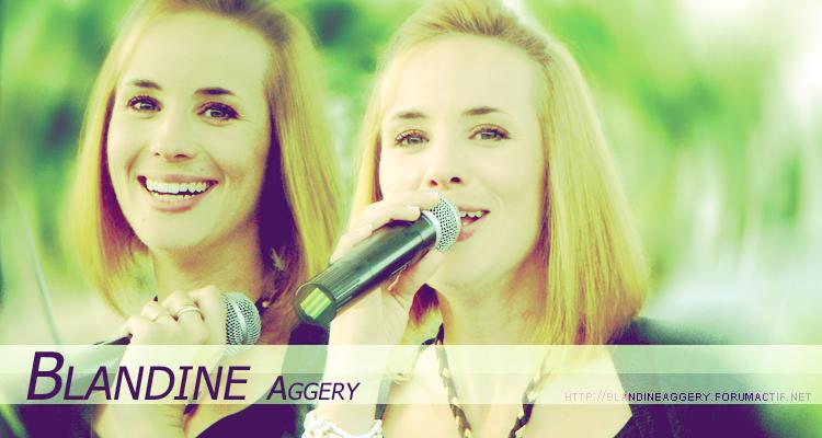Le forum officiel de Blandine Aggery