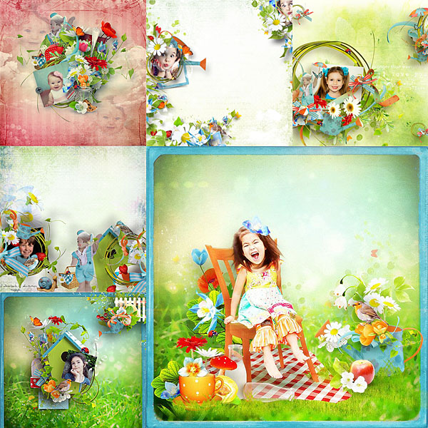 Véro - MAJ 02/03/17 - Spring has sprung ...  - $1 per pack  - Page 2 Pages-355f262