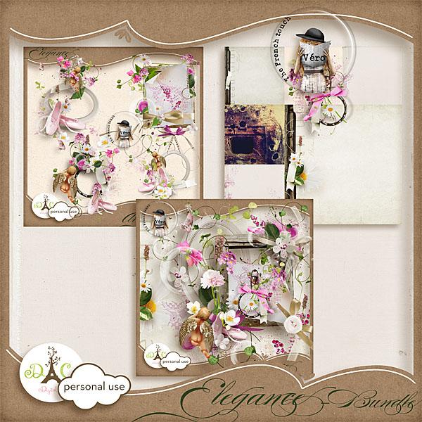 Véro - MAJ 02/03/17 - Spring has sprung ...  - $1 per pack  - Page 2 Preview_elegancebundle_vero-350be97