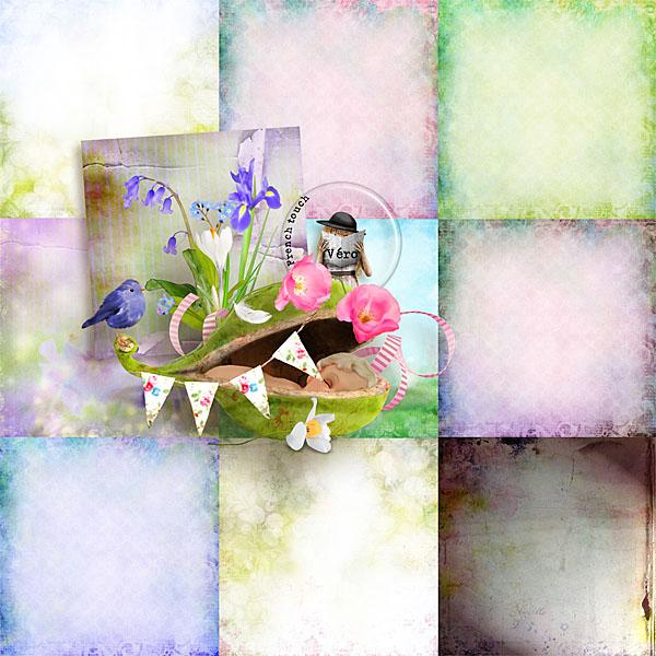 Véro - MAJ 02/03/17 - Spring has sprung ...  - $1 per pack  Vero_pvpaperssp-33a7f10