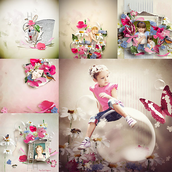Véro - MAJ 02/03/17 - Spring has sprung ...  - $1 per pack  - Page 2 Paintedpoppies03-37277a9