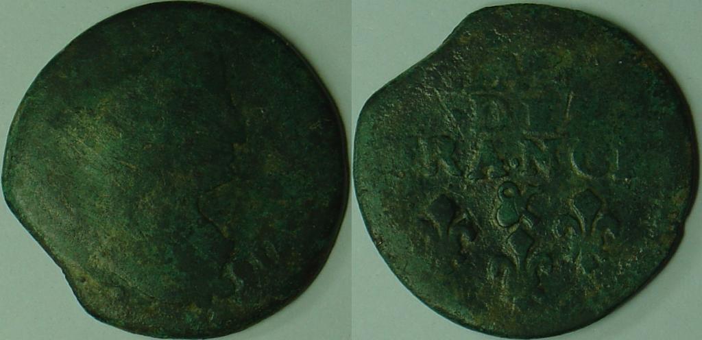 Liard de France Louis XIV 198-3a2ba91