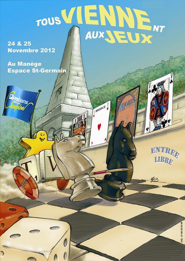 """24/25 Novembre 2012 - Convention """"Tous viennent aux jeux"""" Affiche_forum-3839b99"""