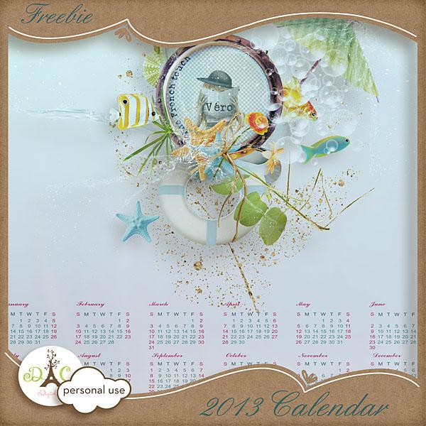 Véro - MAJ 02/03/17 - Spring has sprung ...  - $1 per pack  - Page 4 Preview_2013calendar_vero-3a59676