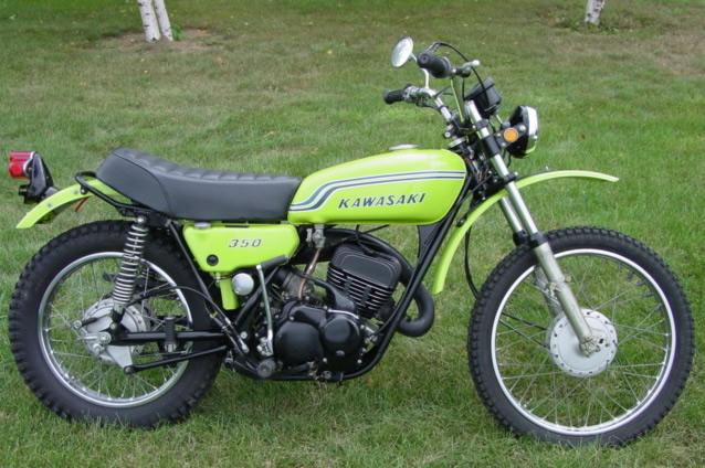 publicité de la 400DTMX de 1977 Kawasaki1972-f9-1-bighorn350-3aee194