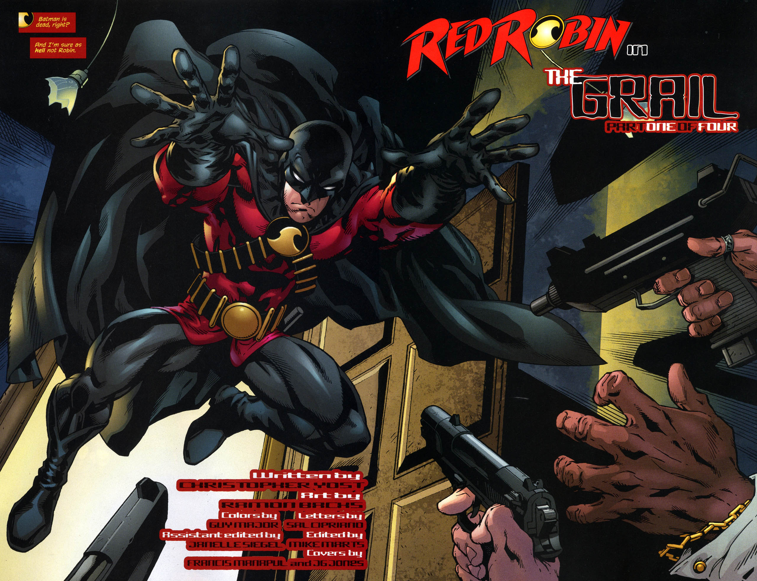 Tim Drake : Red Robin Rr3-3c80712