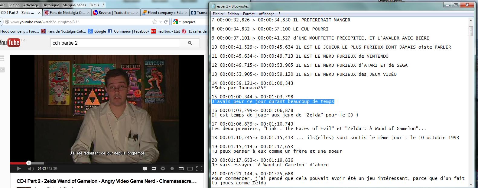 """(Sous-titrage en """"Closed Captions"""" sur Youtube) Ma méthode de sous titrage  Tuto10-3abe641"""