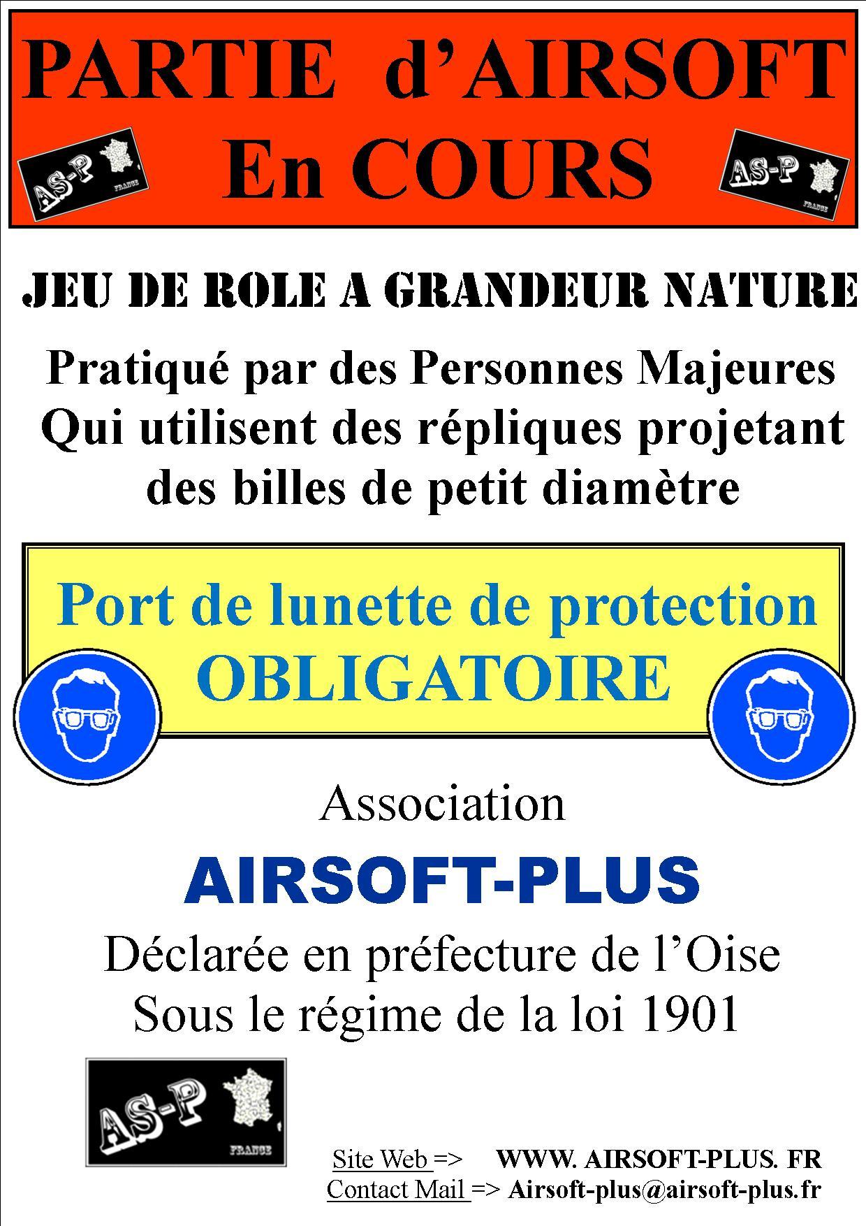 Nouveau Panneau Partie d'Airsoft en Cours 111111-3abcecf