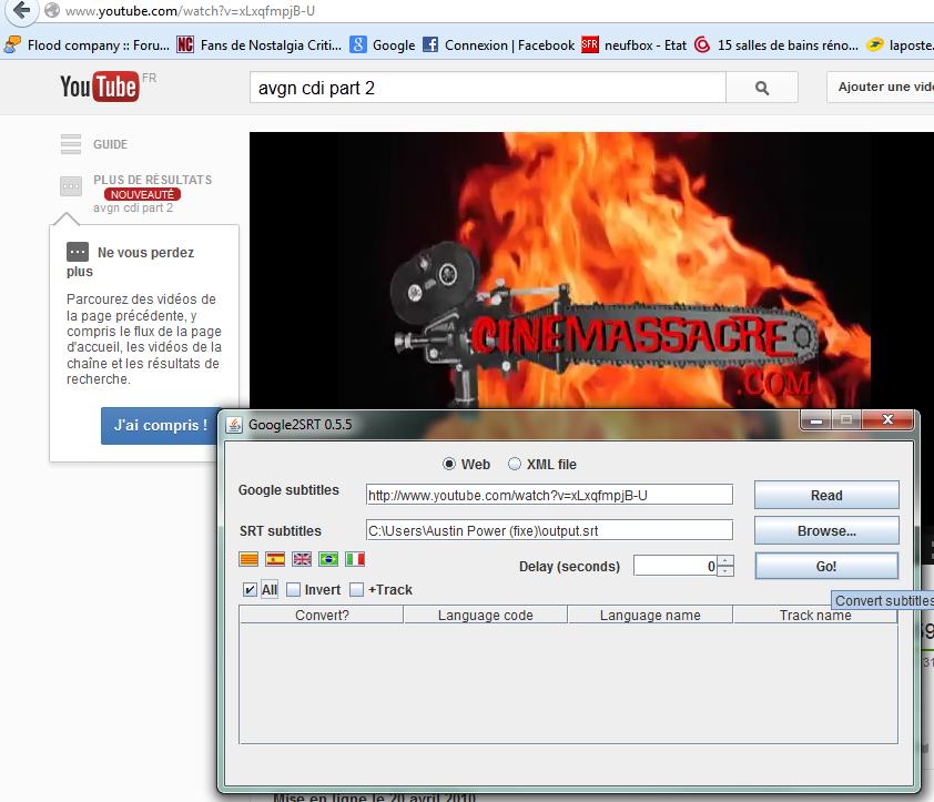 """(Sous-titrage en """"Closed Captions"""" sur Youtube) Ma méthode de sous titrage  Tuto4-3abdf55"""