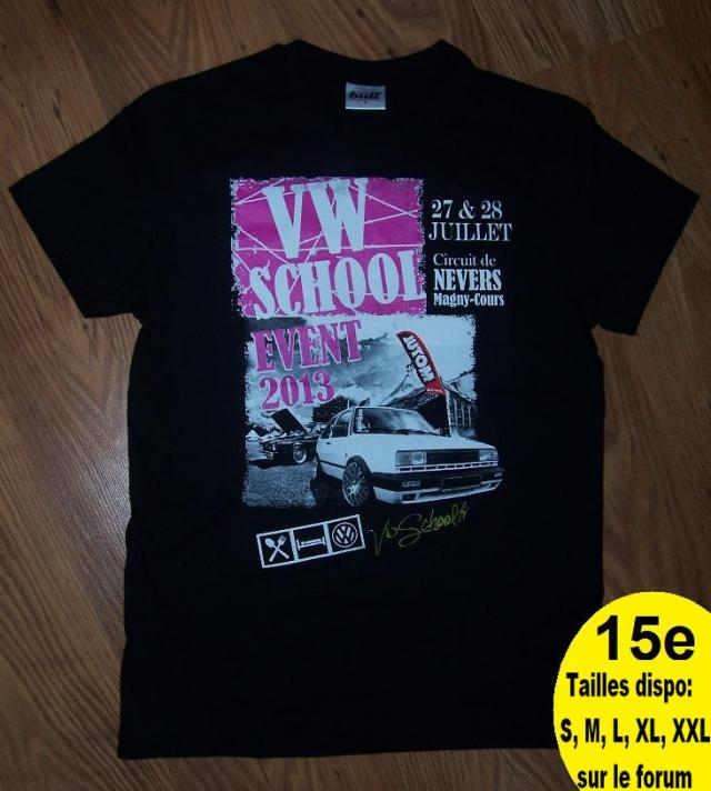 (58) vwschool event 27,28 juil 2013 circuit nevers magnycour T-shirt-vwschool-3c840eb