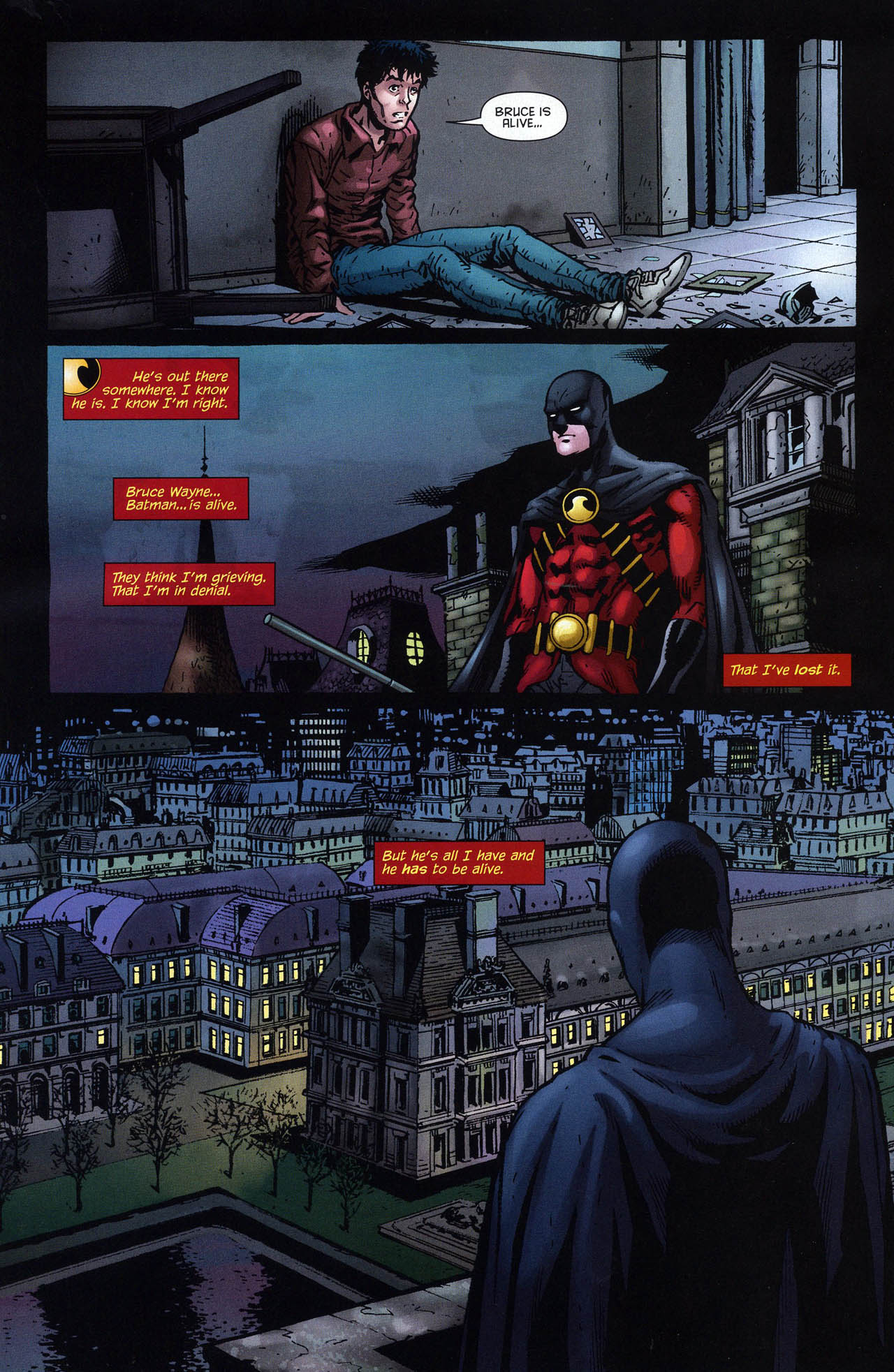 Tim Drake : Red Robin Rr18-3c80818