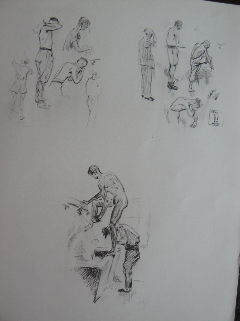 """3 séries de """"dessins de captivité"""" P1090081-42b0b17"""