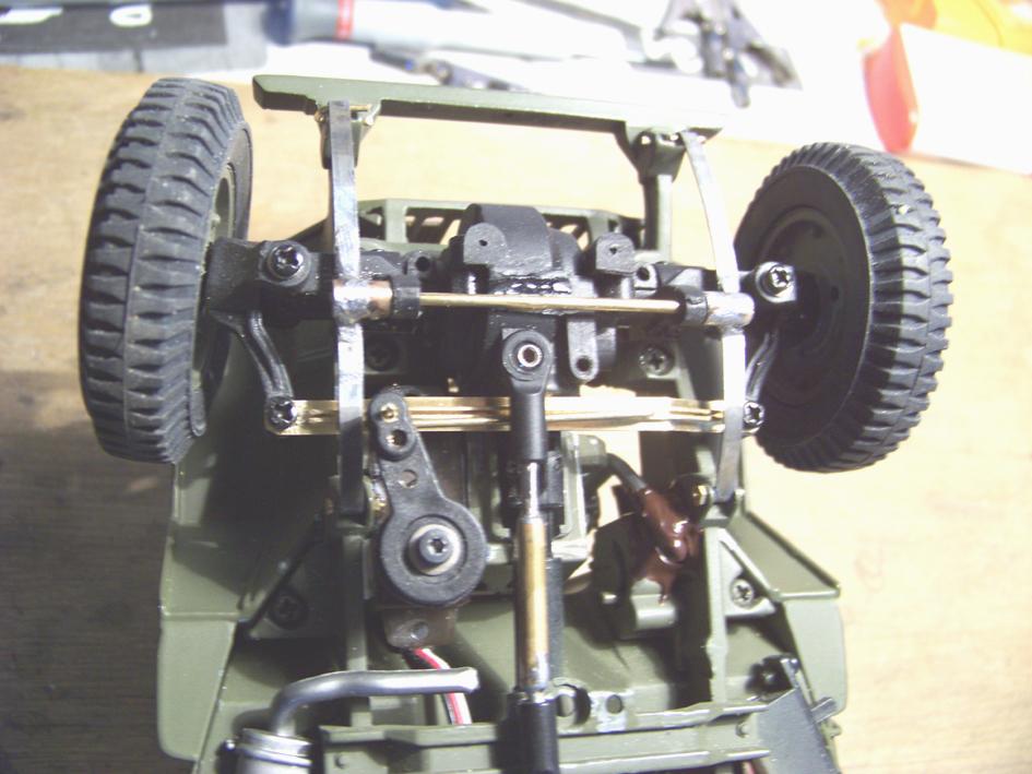Jeep Danbury 1/16e, motorisée Sumo + remorque Bantam 1/4 t 100_2897-434a770