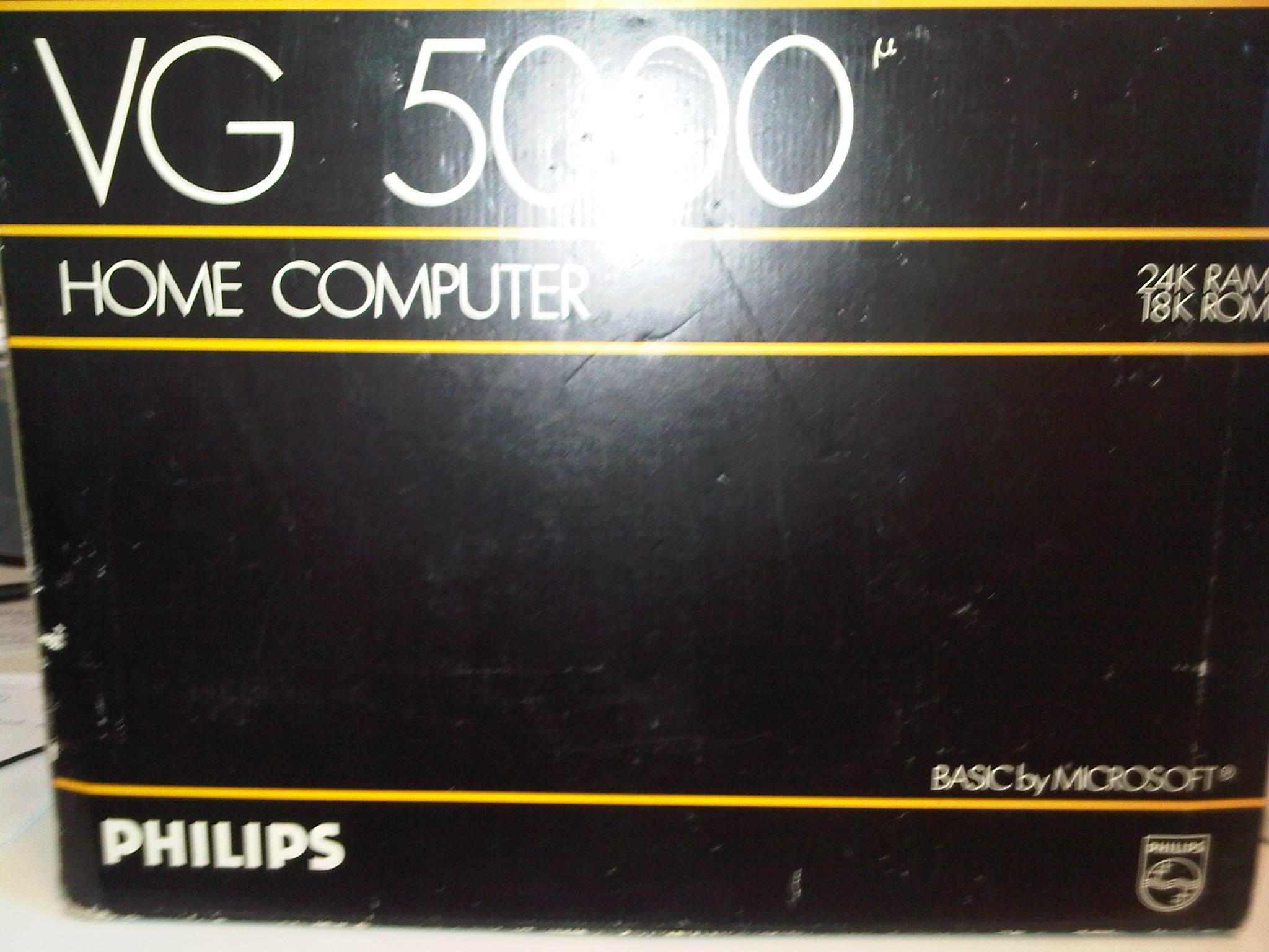 Vds Philips VG 5000 Home computer en boite Img00927-20130424-1230-4374e76