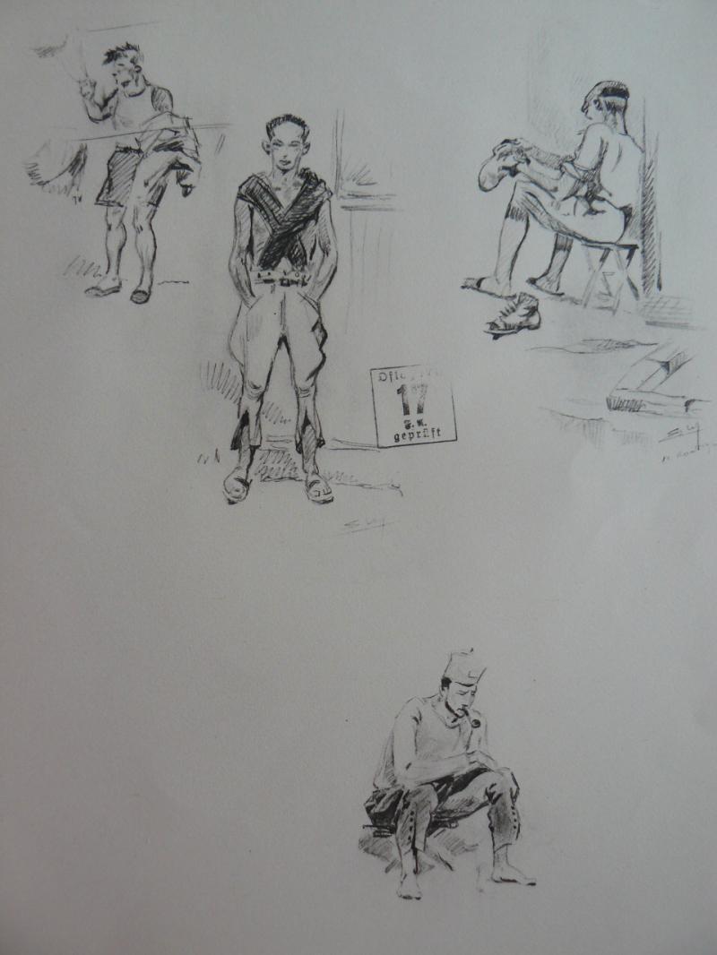 """3 séries de """"dessins de captivité"""" P1090082-42b0b1b"""