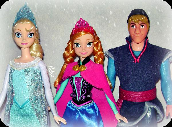 Mes poupées Disney. Frozen-40babf6
