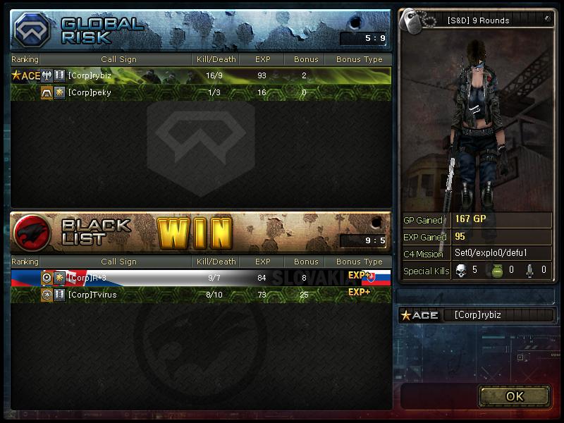 Screeny z turnajů 1v131
