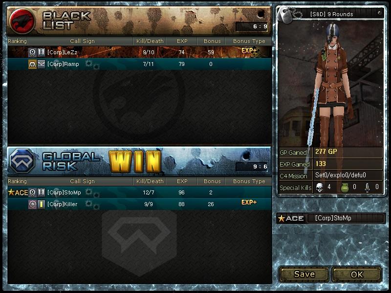 Screeny z turnajů Kolo1