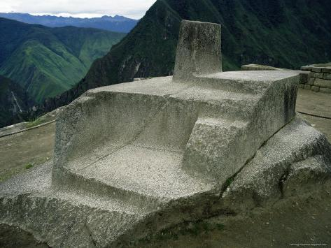 The Intihuatan ~ An Astonishing Ancient OOPArt? Derrick-furlong-the-intihuatana-sun-temple-machu-picchu-unesco-world-heritage-site-peru