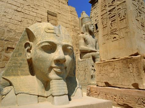 Colossal statue of Ramses II, Tanis Egypt was alive Gavin-hellier-statue-of-ramses-ii-and-obelisk-luxor-temple-luxor-egypt-north-africa