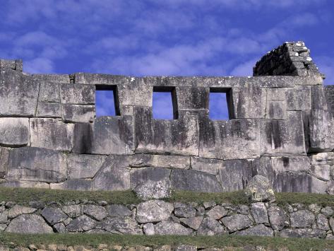 Who Built Machu Picchu's Temple Of 3 Windows? Claudia-adams-three-windows-temple-of-machu-picchu-peru