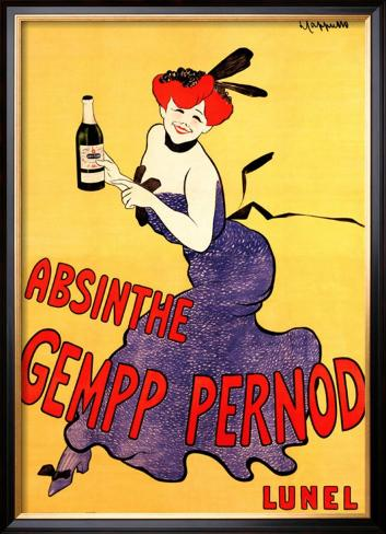 Bon Samedi Leonetto-cappiello-the-absinthe-gempp-pernod