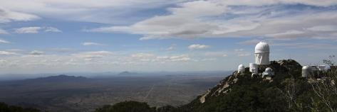 Signs that Spring is coming. Kitt-peak-observatory-domes-and-surrounding-area