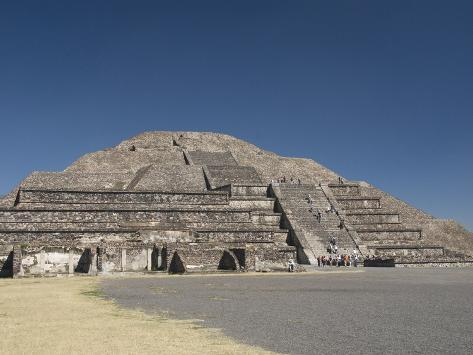 Why was there liquid mercury under the Pyramid Of The Moon? Richard-maschmeyer-pyramid-of-the-moon-archaeological-zone-of-teotihuacan-unesco-world-heritage-site-mexico
