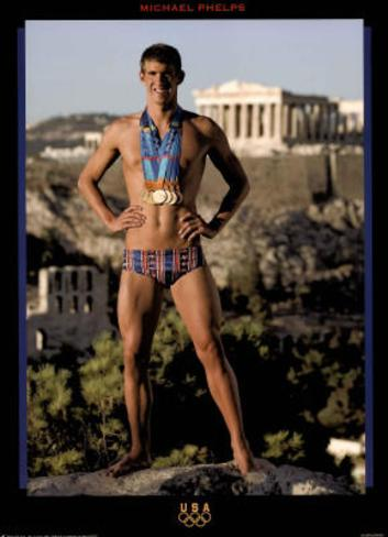 Discussion sur l' Etoile de TF1 du 27 septembre   2015 - Page 6 Michael-phelps-athens-2004-standing-with-medals-olympics-official