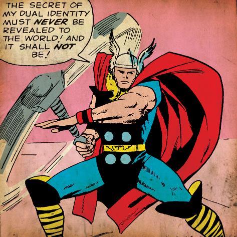 Thor Marvel-comics-retro-mighty-thor-comic-panel-aged
