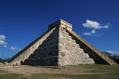 Mysterious Tornado appeared above Kukulkan Pyramids over Mexico! Roger-ressmeyer-pyramid-of-kukulkan