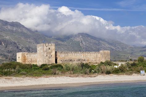 Ori Castle ~ Oldest Polygonal Masonry On Earth? Markus-lange-venetian-castle-in-front-of-lefka-ori-mountains-white-mountains-frangokastello-chania