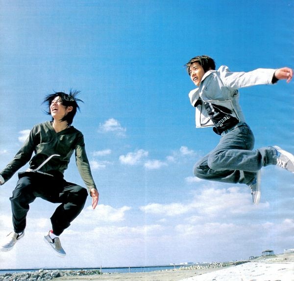 ARASHI. Радужные мальчики - 4 - Страница 20 GQOeq