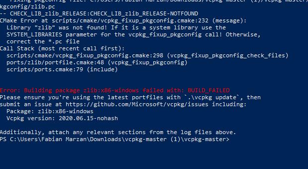 Problema al Compilar un Tfs 1.3 5th7G2C