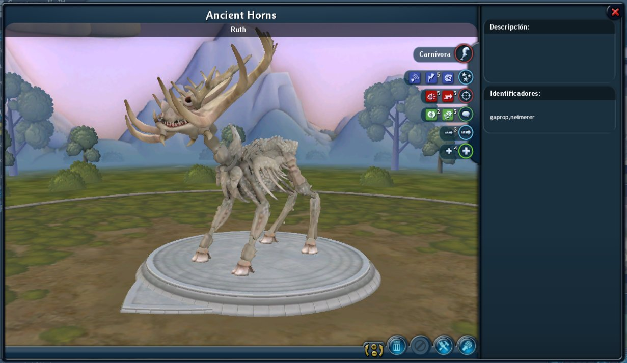 (42) Ancient Horns [O8][C] [♫] 7doUujh