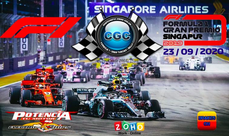 19 - GP de SINGAPUR 23/09/2020 IE4calm