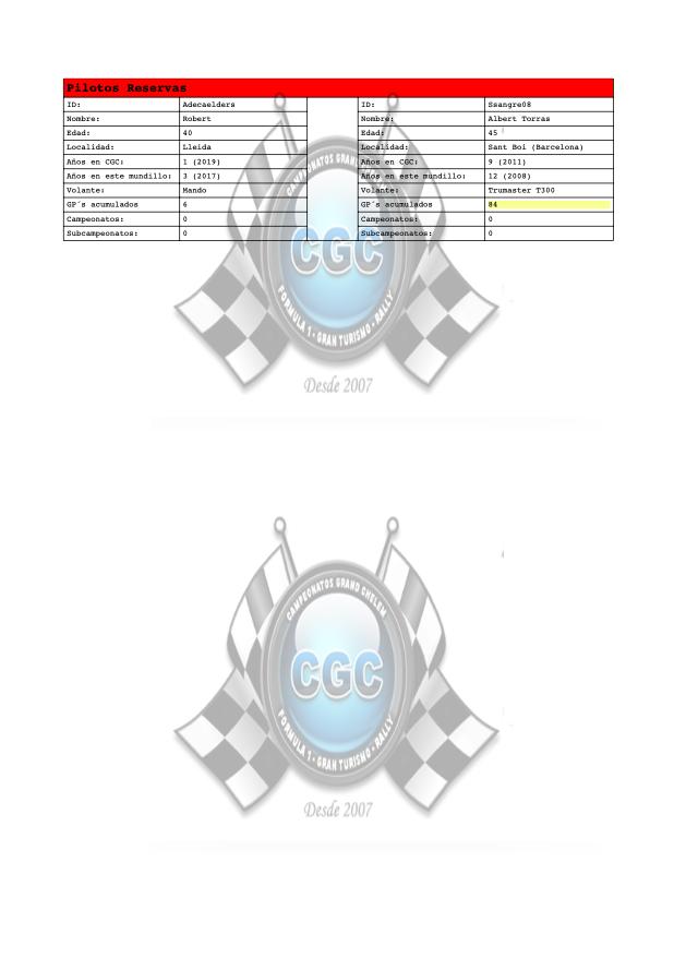 Despedida T13 S71G5lC