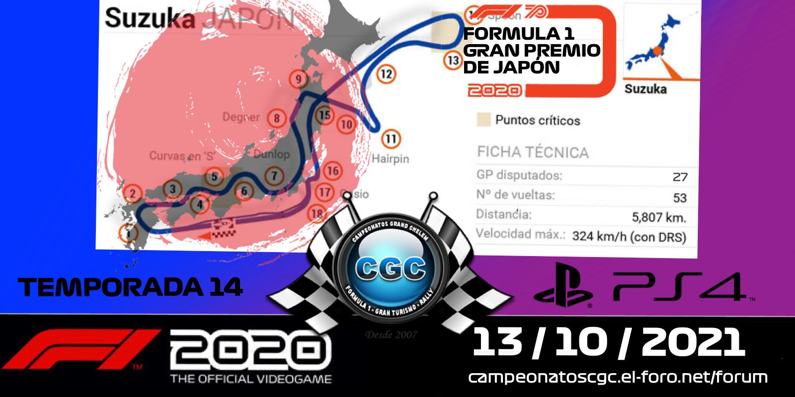 22 - GP de JAPÓN 13/10/2021 TaLPGIX