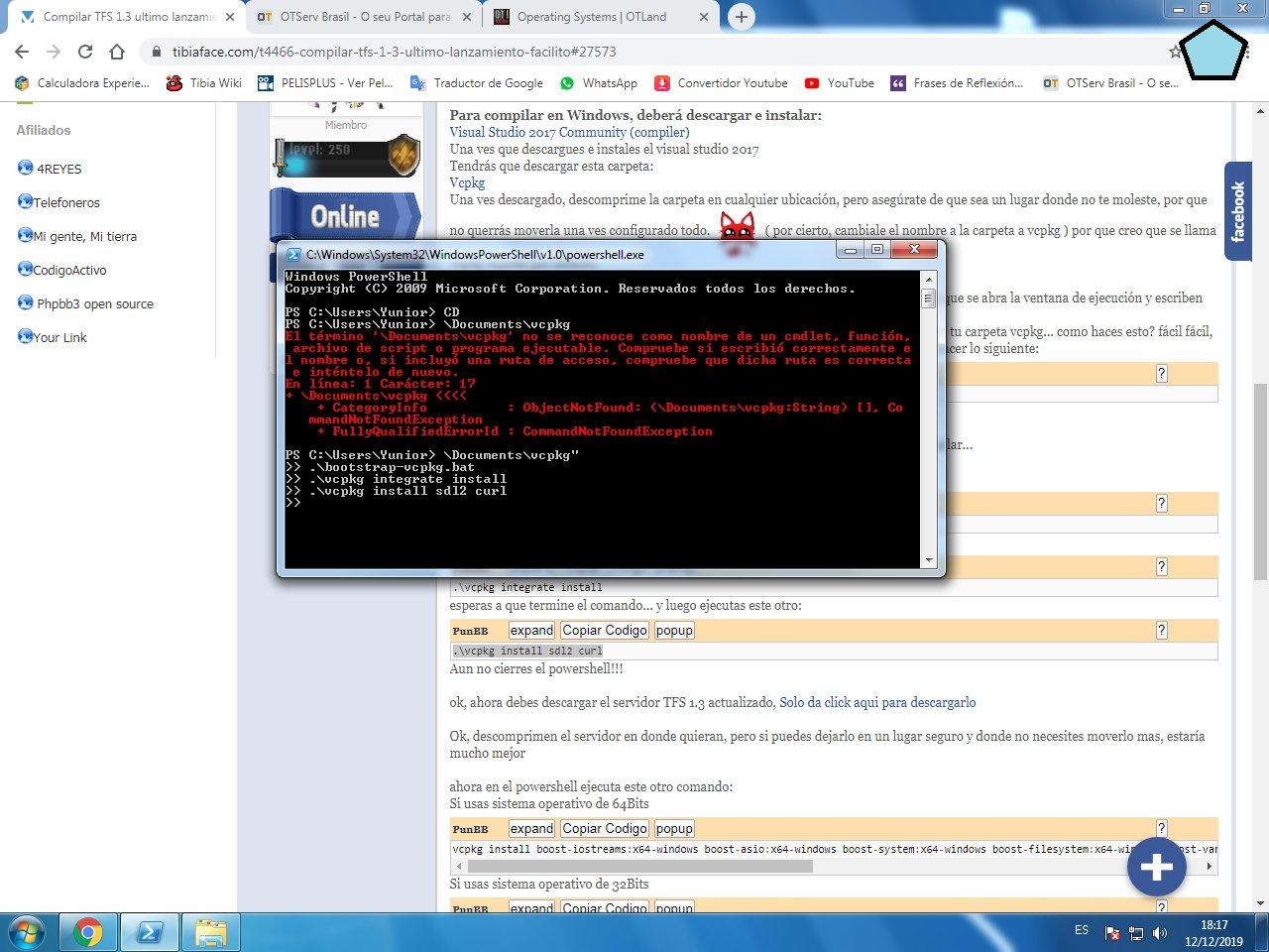 Compilar TFS 1.3 ultimo lanzamiento, FACILITO W2LO0xI