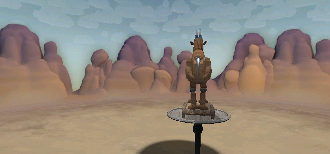 El caballo de Troya -mi interpretación- YaXN85D