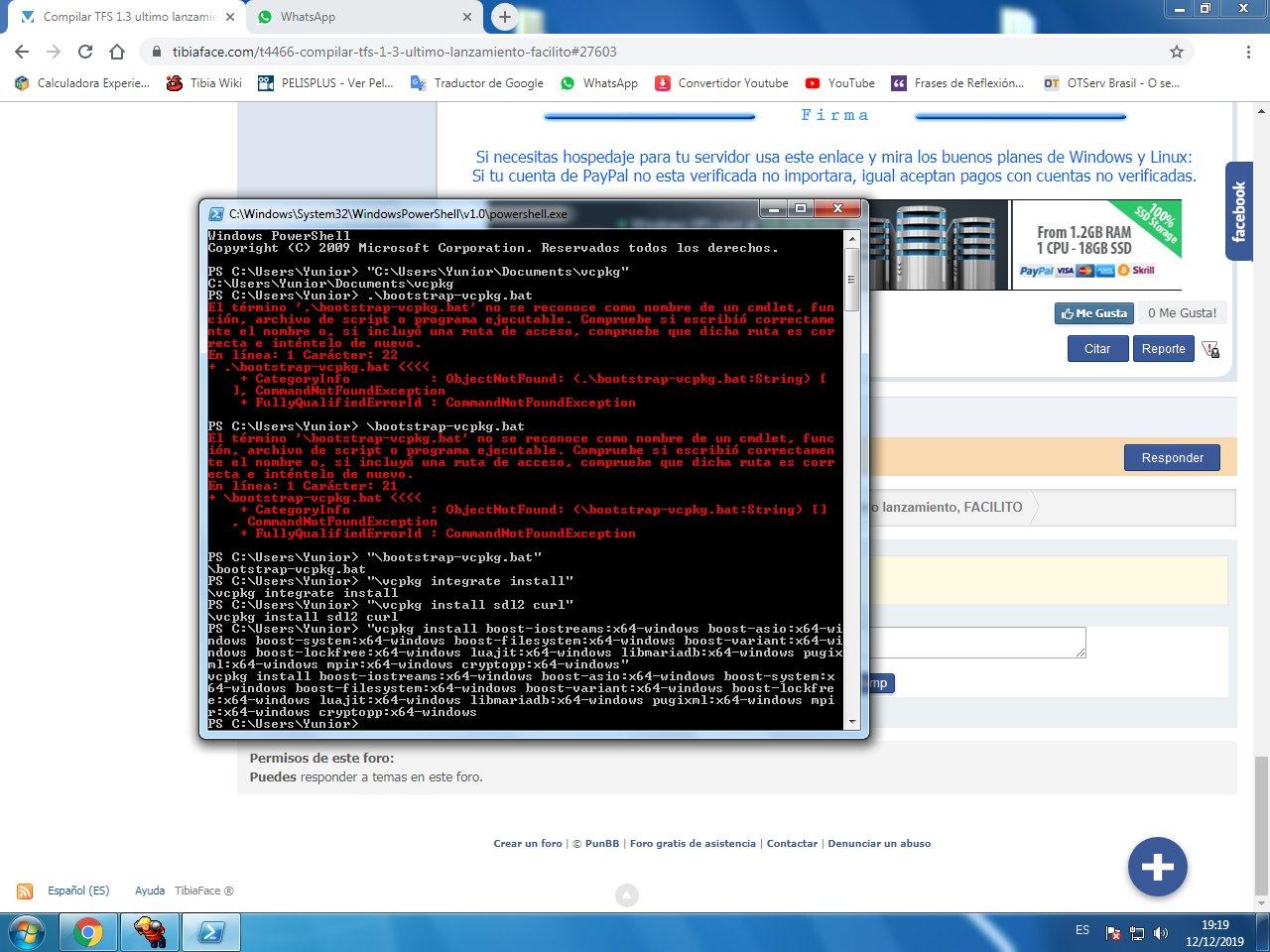 Compilar TFS 1.3 ultimo lanzamiento, FACILITO FMUjiZB