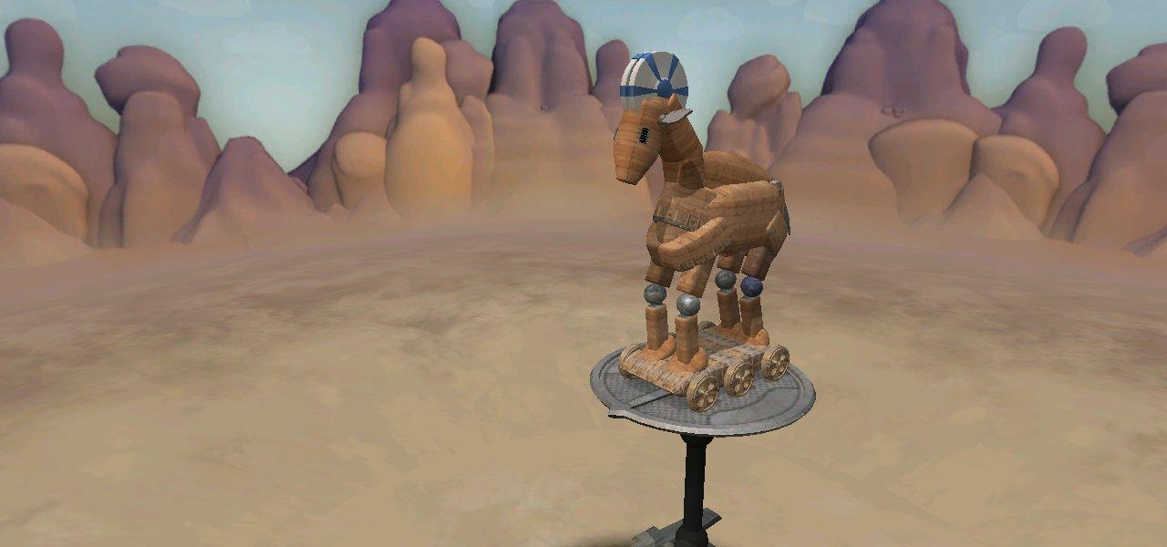 El caballo de Troya -mi interpretación- UQhONER