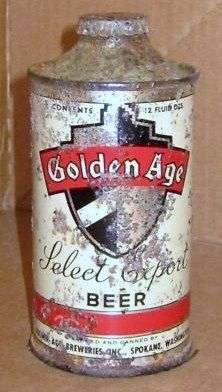 RV AND RECAPS TRUTH! - Page 2 GOLDEN_AGE_Cone_Top_Beer_Can_WASHINGTON